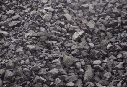 Обработка каменного угля
