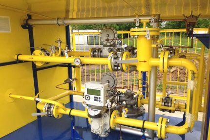 Пункт замера расхода газа