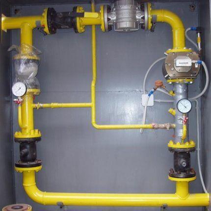 Новый газопровод