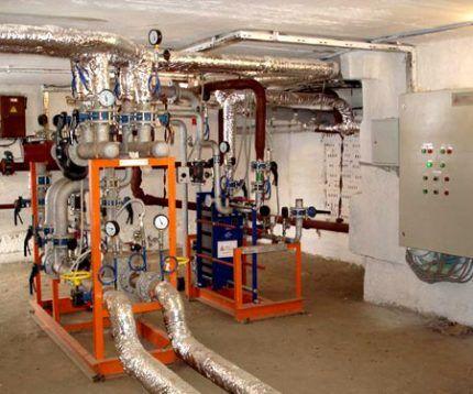 Оборудование автономной газовой котельной