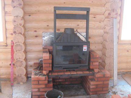 Самодельный газовый камин