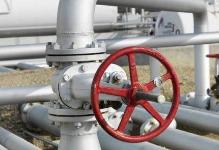 Стальная газовая арматура