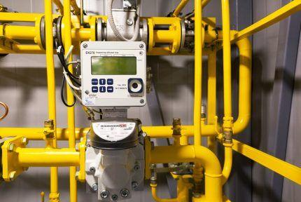 Автоматика на газопроводе