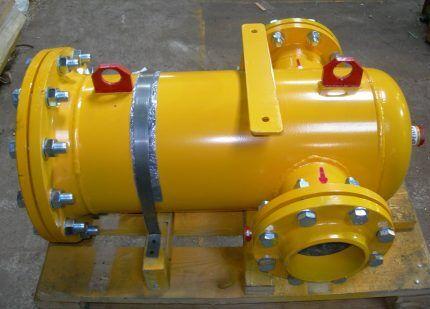 Газовый фланцевый фильтр