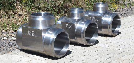 Тройник для газовой трубы