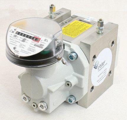Ротационный прибор учета расхода газа
