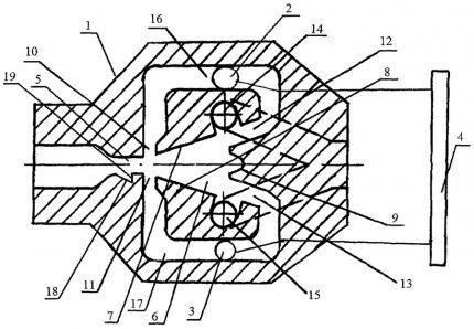 Устройство автогенераторного расходомера