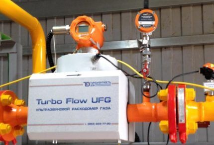 Ультразвуковой газовый расходомер