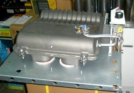 Чугунный теплообменник газового конвектора