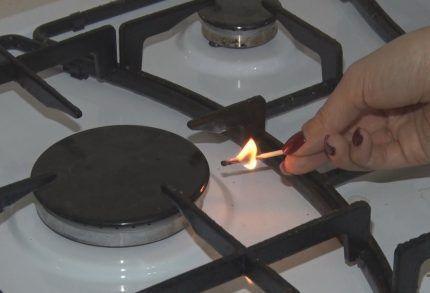 Не зажигается газовая плита