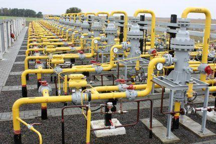 Магистральная система газоснабжения