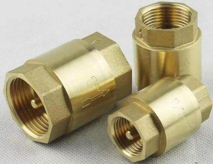 Пружинные муфтовые клапаны для насоса