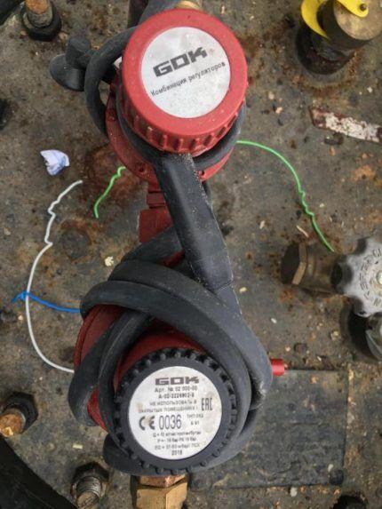 Безопасный греющий кабель