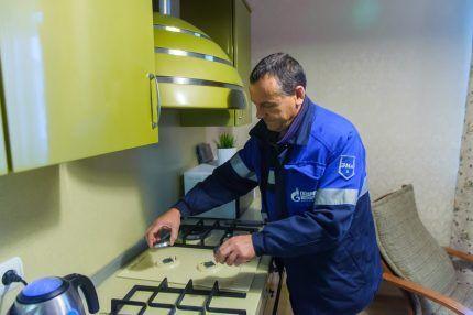 Проверка газовых приборов