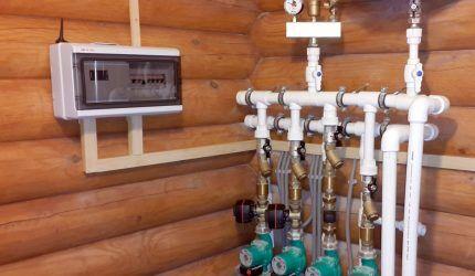 Контроллер для управления системой отопления