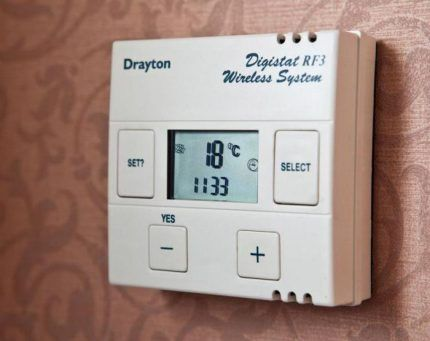 Программатор температуры для газового котла