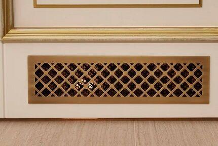 Вентиляция в дверном полотне