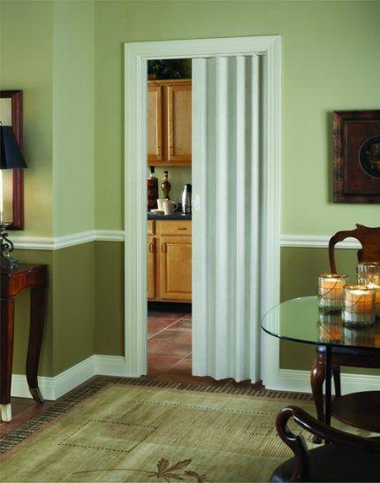 Дверь-гармошка на кухню