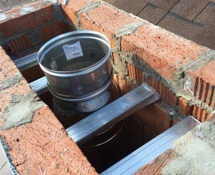 Замена дымохода в частном доме