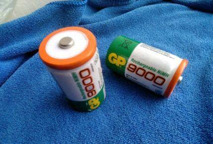Новые батарейки для колонки