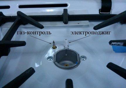 Газ-контроль и электроподжиг