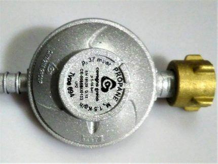 Маркировка газового редуктора