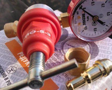 Новый газовый пропановый редуктор