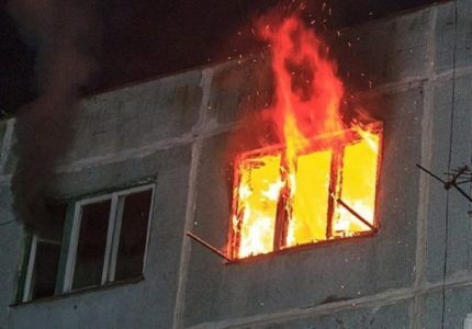 Пожар в квартире