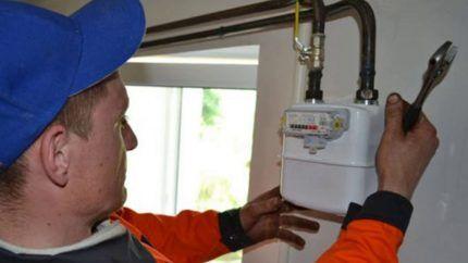 Проверка газового счетчика