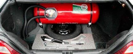 Газобаллонное оборудование автомобиля