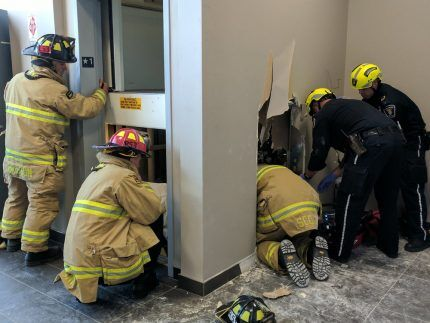 Эвакуация из лифта
