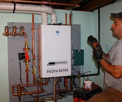 Процедура подключения газового котла
