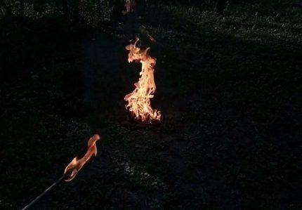 Выжигание остатков газа
