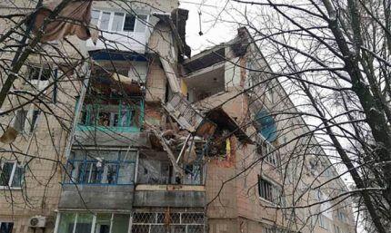 Последствия взрыва газа в доме