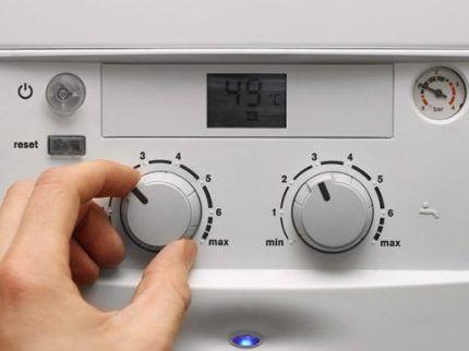 Регулятор мощности газового котла