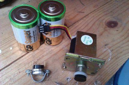 Батарейки для колонки
