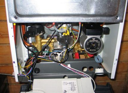 Проверка электропроводки газового котла