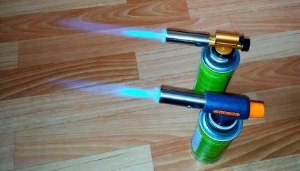 Газовые горелки с пьезоподжигом
