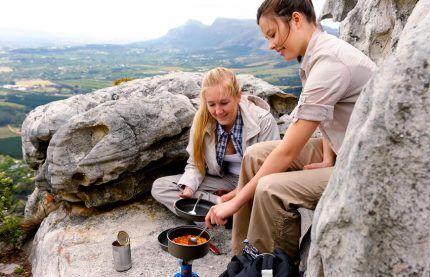 Использование горелки на природе
