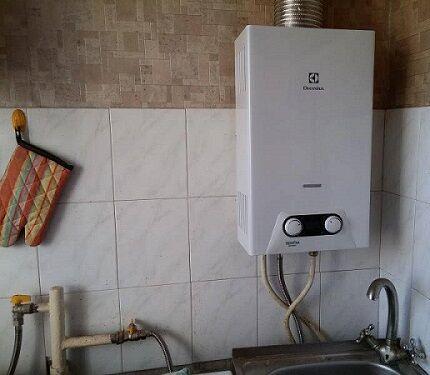 Плохой напор горячей воды в ванной