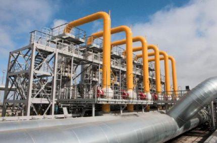 Магистральные газовые трубопроводы