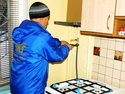 Профессиональная установка газового оборудования