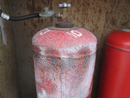 Что делать если газовый баллон начал покрываться инеем