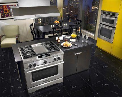 Перенос газовой плиты в пределах кухни