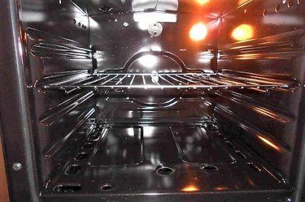 Подсветка в газовой духовке