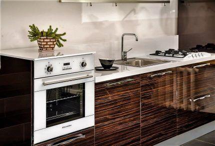 Встраиваемая газовая техника на кухне