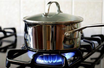 Решетка для поддержания посуды в настольной плите