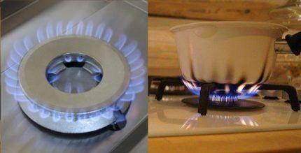 Как горит пламя