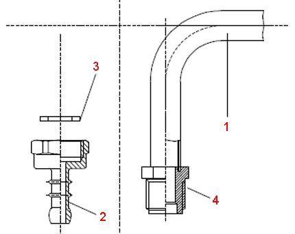 Конфигурация подключения под сжиженный газ
