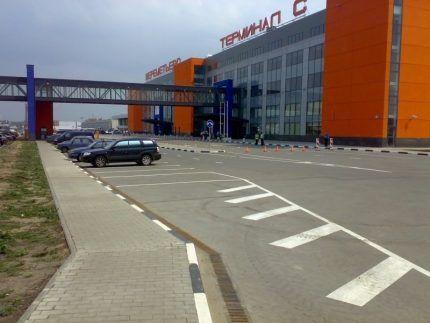 Линейный водоотвод аэропорта